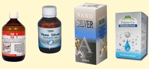 kolloid ezüst pikkelysömör kezelése